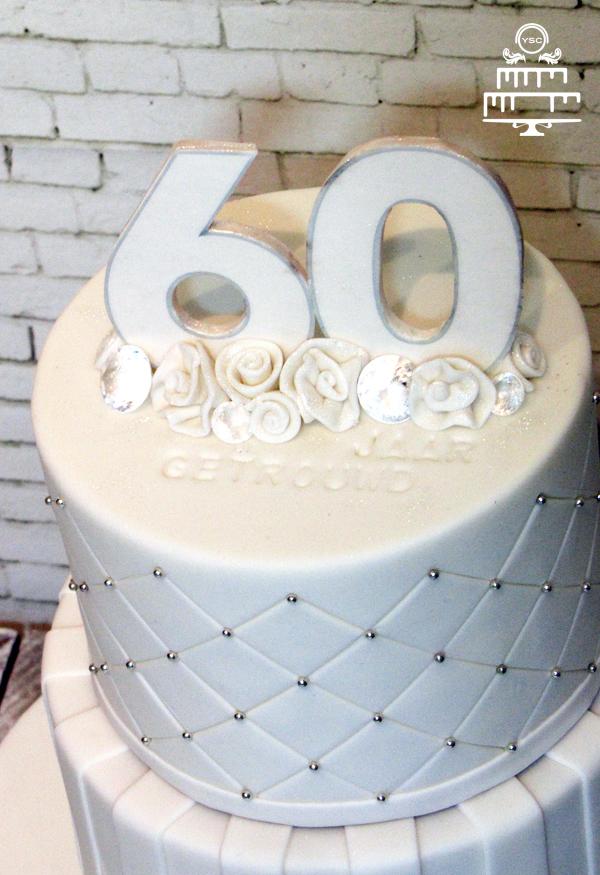 Beroemd Diamanten bruidstaart - Yummie Sweet Cakes WY28