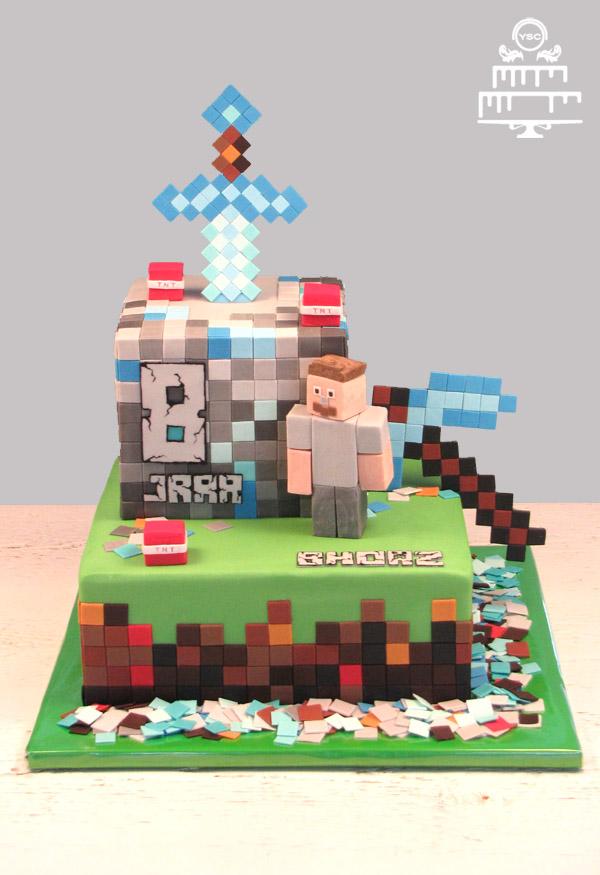 taart minecraft