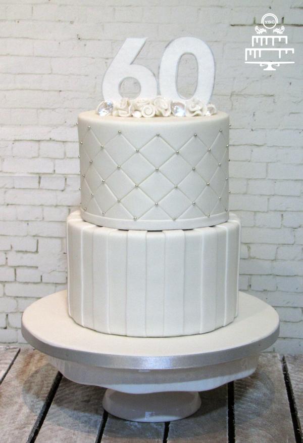 Geliefde Diamanten bruidstaart - Yummie Sweet Cakes II12