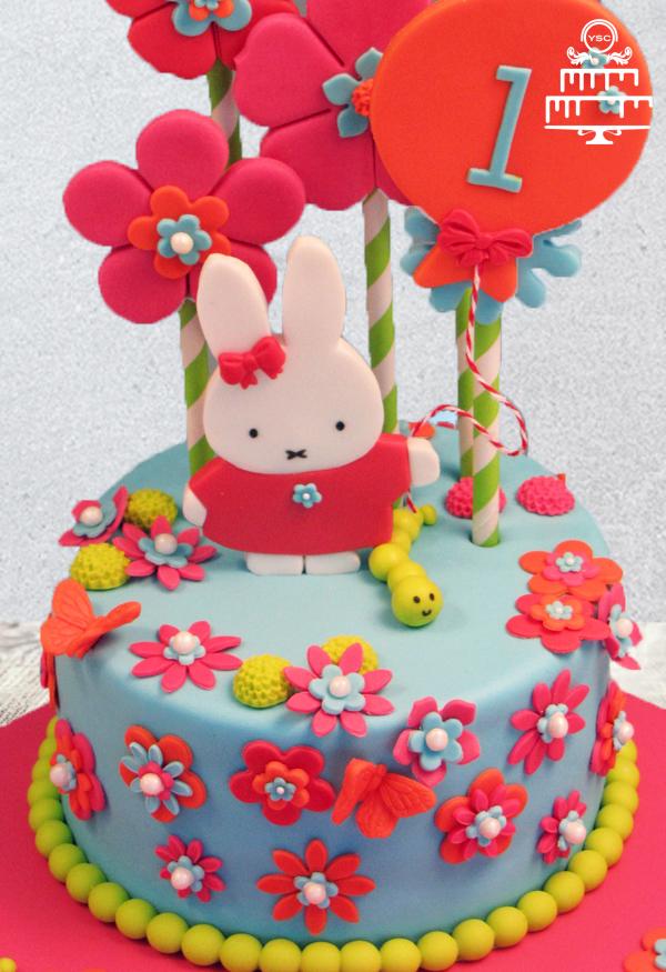 Top Nijntje voor meisjes taart - Yummie Sweet Cakes #PR47