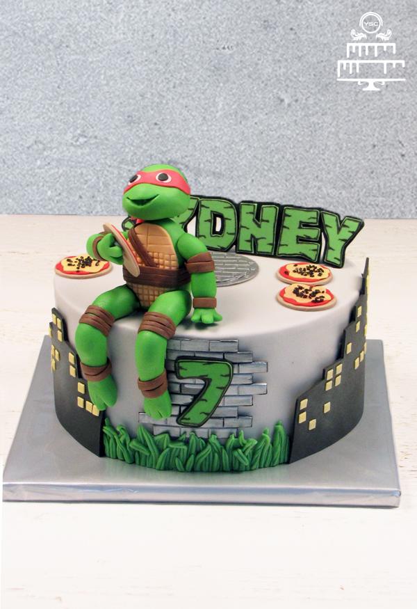 ninja turtles taart Ninja Turtle taart • Yummie Sweet Cakes ninja turtles taart