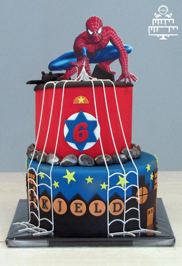 Voorkeur Spiderman verjaardagstaart - Yummie Sweet Cakes #LQ-02
