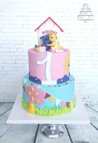 Een unieke, luxe bruidstaart • Yummie Sweet Cakes