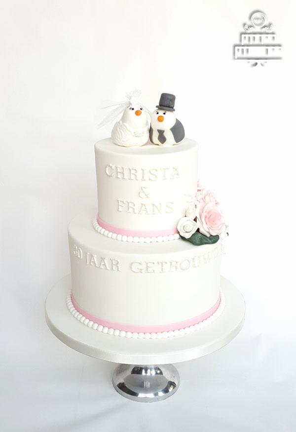 Ongebruikt Een bruidstaart voor een 30 jarig huwelijk • Yummie Sweet Cakes • DC-73