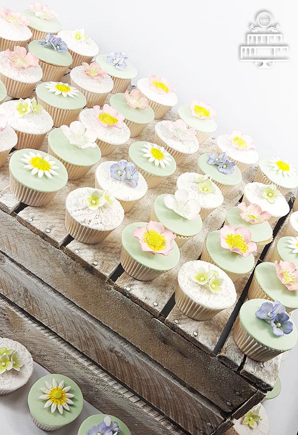 Cupcakes op je bruiloft