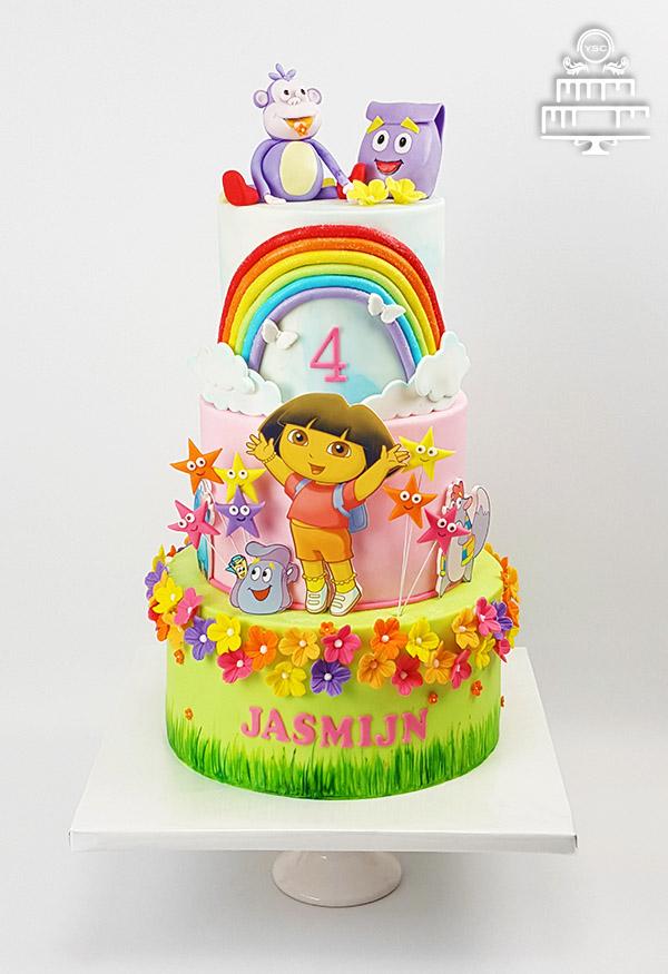 dora taart Een Dora taart voor Jasmijn • Yummie Sweet Cakes dora taart