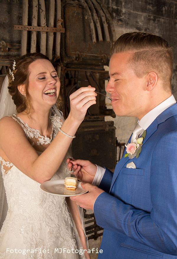 Uitkiezen van een bruidstaart