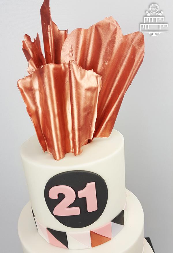 Taart voor een zwemdiploma - Yummie Sweet Cakes