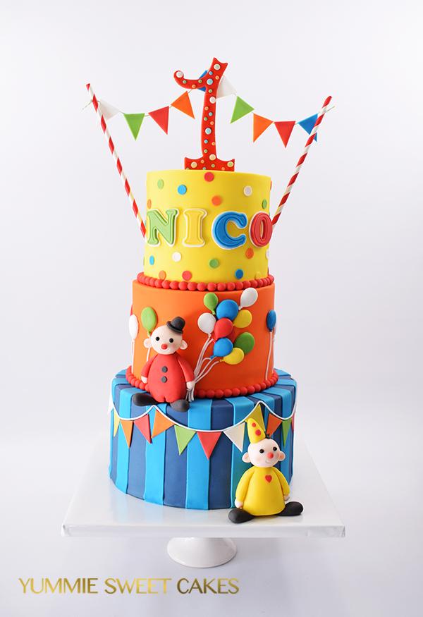 Een lieve Nijntje taart - Yummie Sweet Cakes