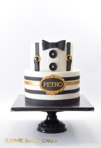 Een taart voor een jarige man