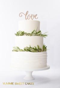 Yummie Sweet Cakes bruidstaart