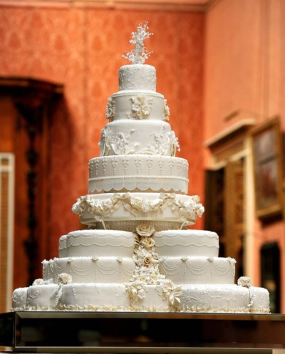 de royal wedding cake