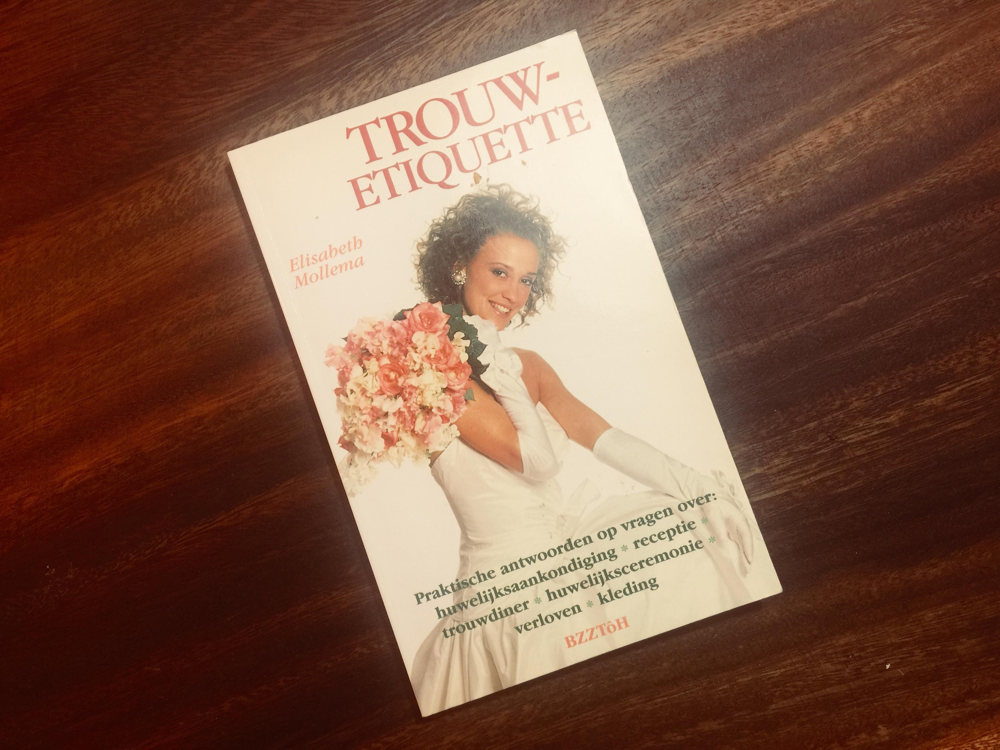 Bruidstaart etiquette