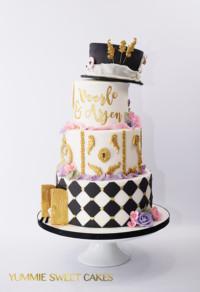 The Teaparty wedding cake