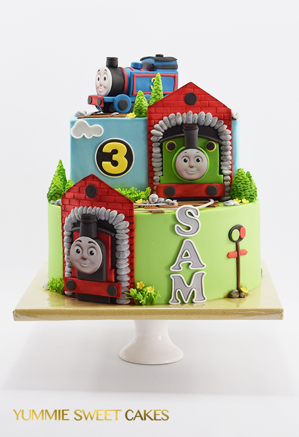 Beroemd Een stoere Thomas de Trein taart • Yummie Sweet Cakes • &KH85