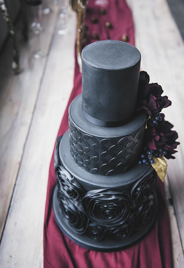 Zwarte taart