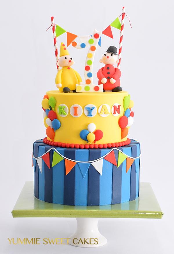 Een verjaardag met een Bumba taart